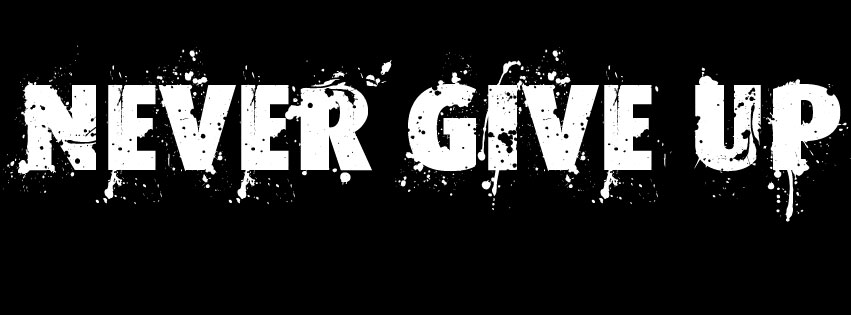 Aku Tak Akan Menyerah