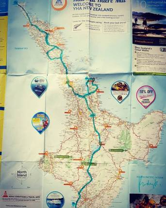 map new zealand north island