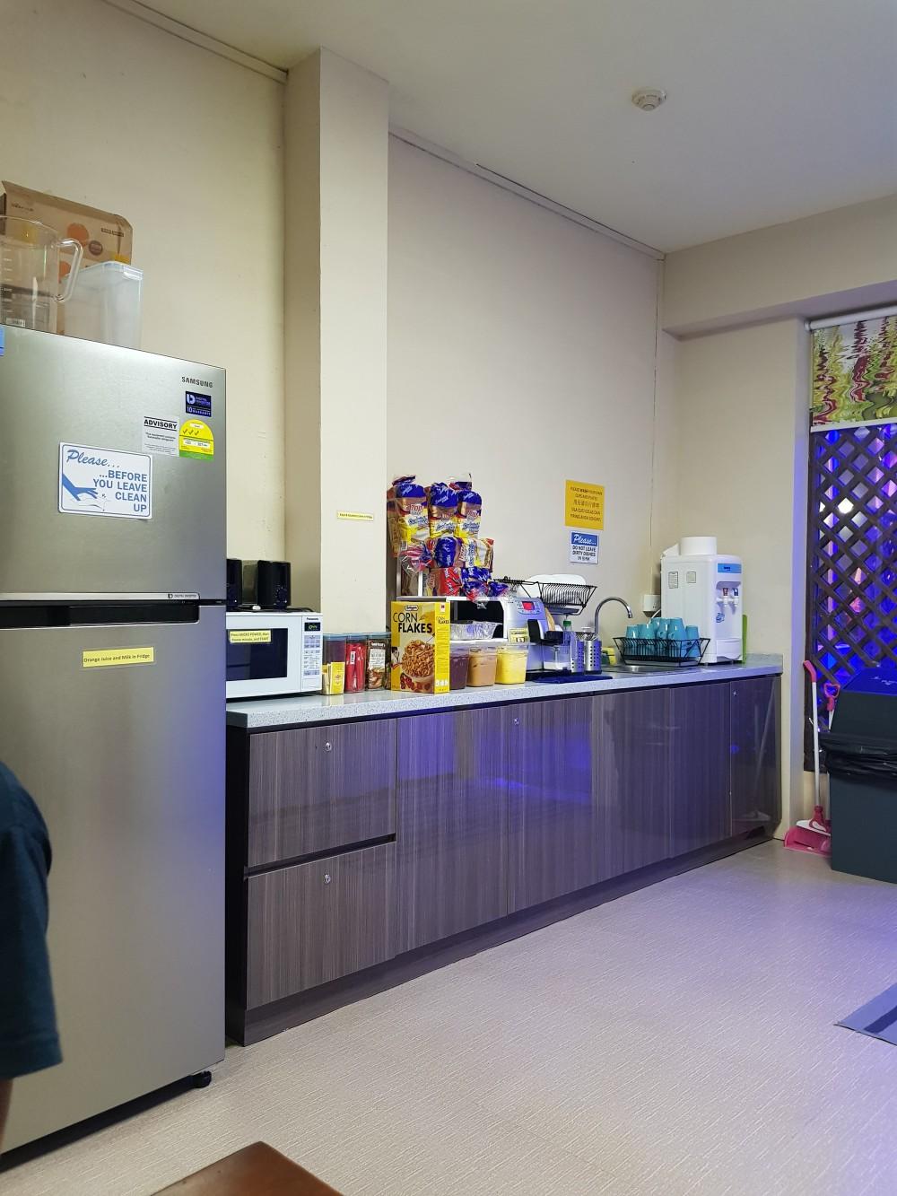 dapur di spacepod janganmenyerah review hotel bed dan breakfast