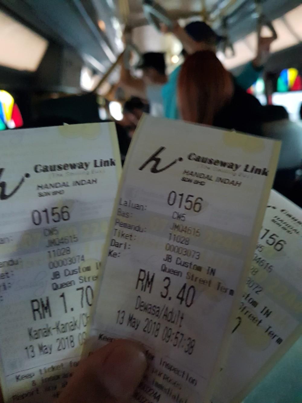 tiket bis causewaylink johor bahru malaysia janganmenyerah