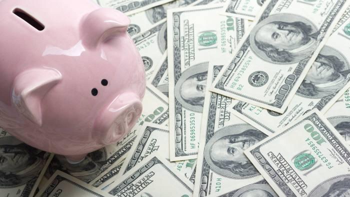 dollar piggy bank menabung jangan menyerah