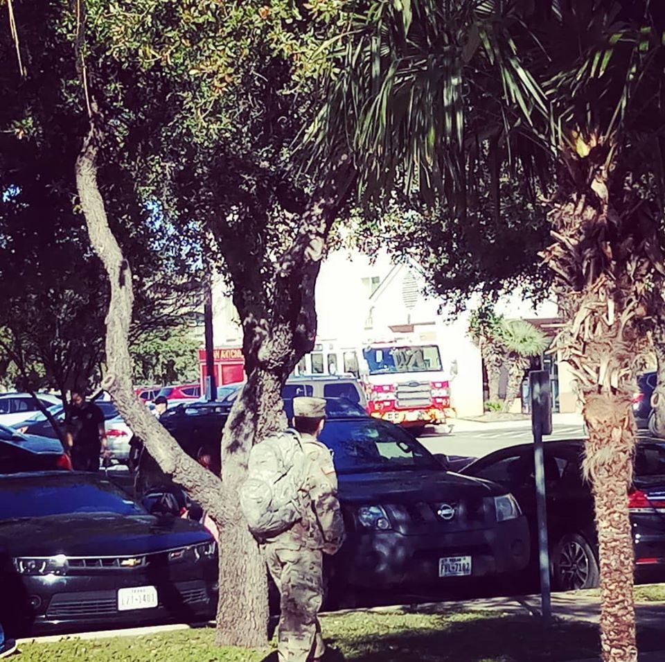 melihat mobil pemadam kebakaran di san antonio jangan menyerah
