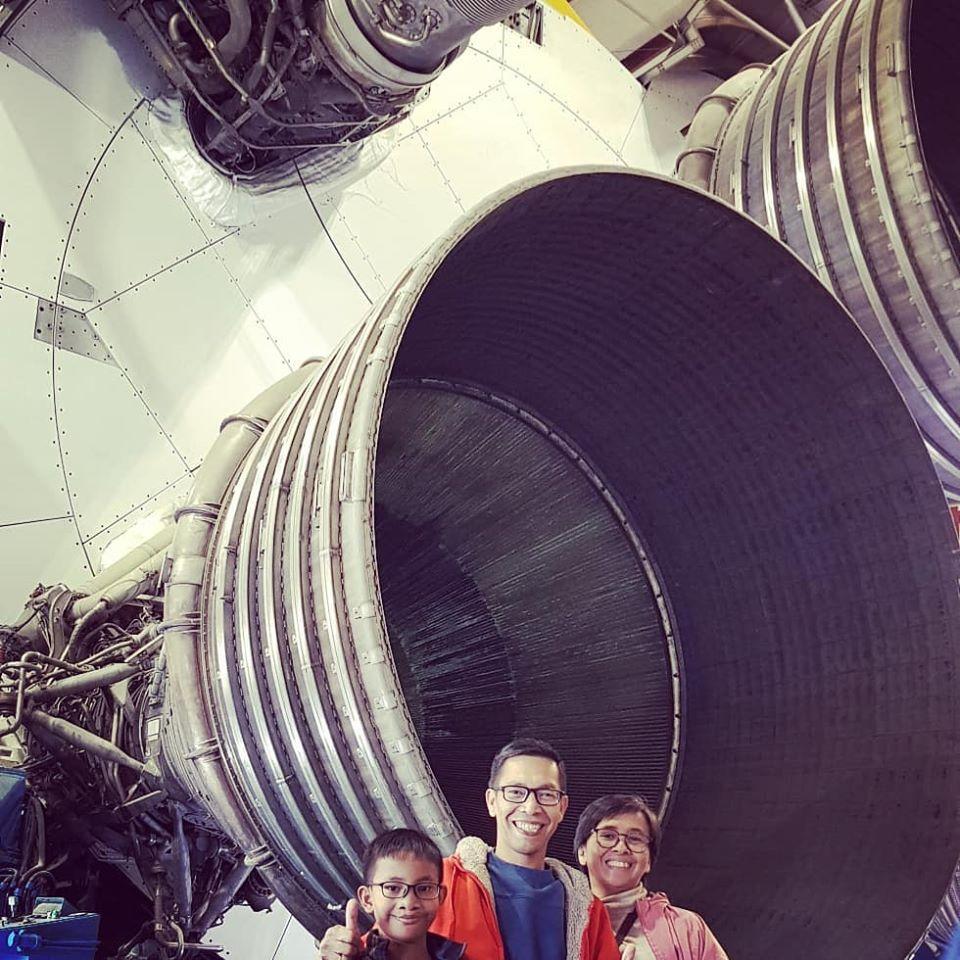 trip nasa space center amerika jangan menyerah
